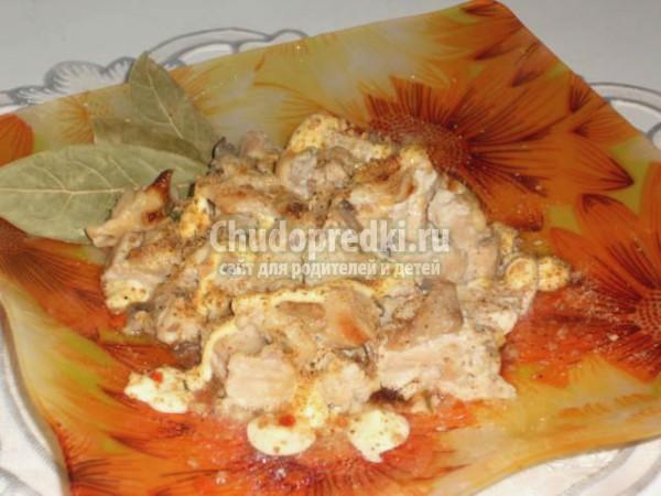 жульен с курицей и грибами рецепт без сливок