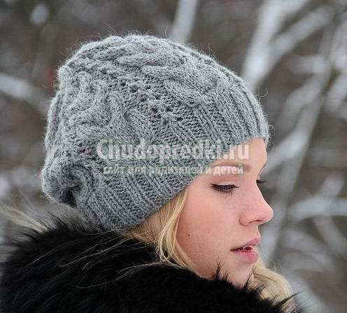 Вязание шапок. Подробные схемы