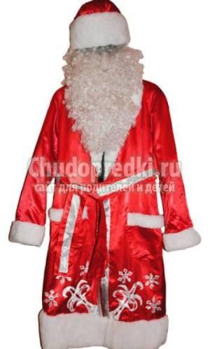 Выкройка костюма продавца в детский сад фото 886