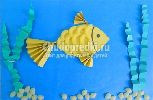 Поделки рыбки своими руками