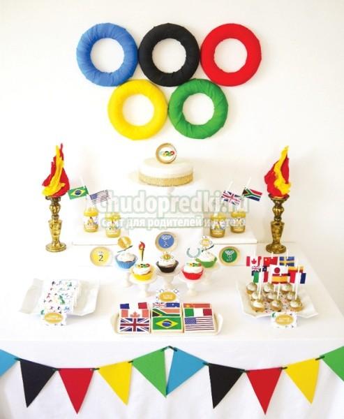 Поделки своими руками олимпийские кольца