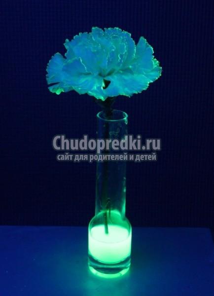 Как сделать светящуюся жидкость без перекиси