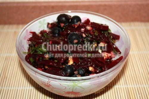 Рецепт салат на зиму со свеклой