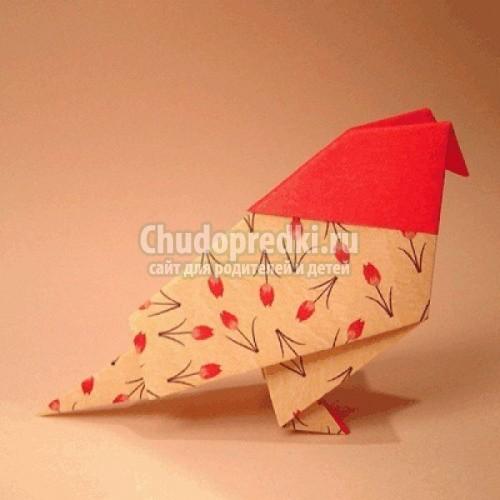 Оригами своими руками птицы фото