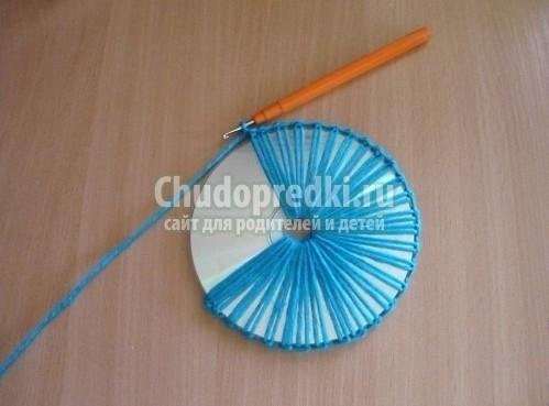 Мастер класс поделки из сд дисков