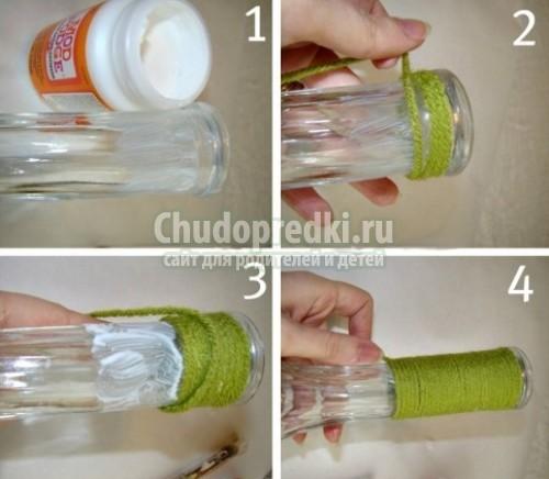 Как сделать вазу для цветов своими руками