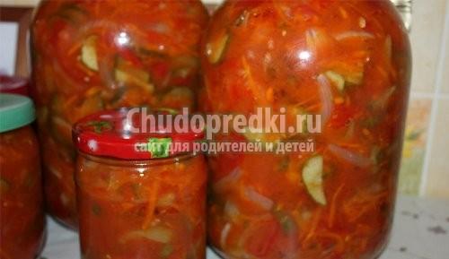Салаты на зиму огурцы помидоры на зиму рецепты с пальчики оближешь