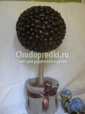 Как Сделать Кофейное Дерево Своими Руками Пошаговая Инструкция Фото - фото 9