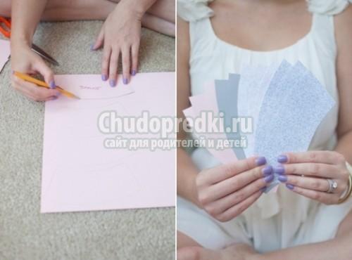 Гирлянда своими руками из бумаги пошаговая инструкция