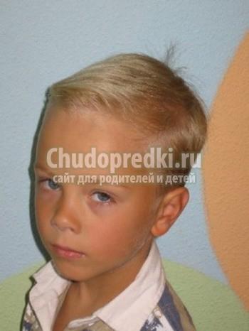 Фото детские стрижки под машинку мальчиков