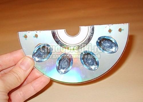 Вироби з CD дисків » Зроби сам - покрокові інструкції, як