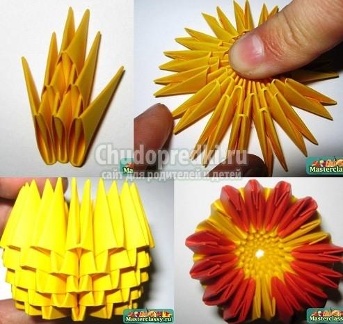 Как сделать тюльпан из бумаги: