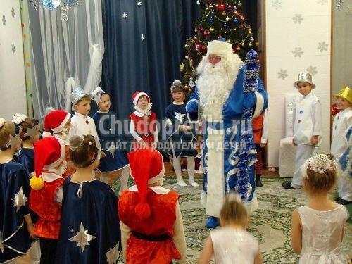 Сценарий праздника к новому году в начальных классах