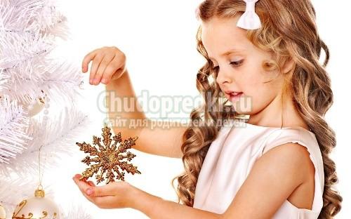 Новогодние прически для девочек