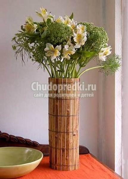 Оригинальные ваза своими руками