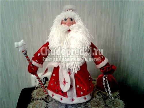 Дед мороз сшитый своими руками