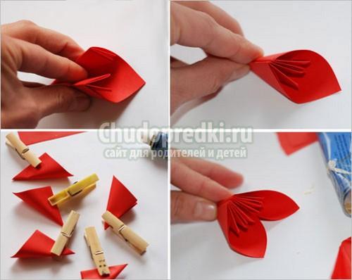 Как делать с бумаги листья