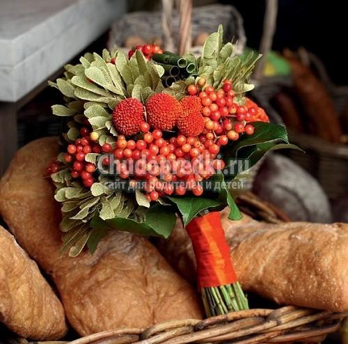 Осенний букет своими руками: популярные фото и мастер-классы
