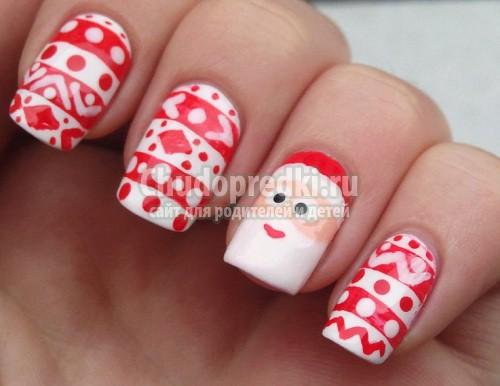 Новогодний дизайн ногтей: лучшие идеи, мастер-классы с пошаговыми фото!
