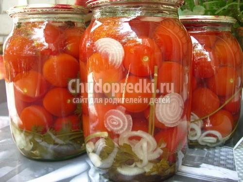 Рецепты как закрывать помидоры
