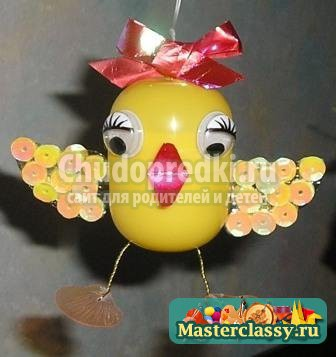 Поделки из киндер яиц: лучшие идеи и мастер-классы