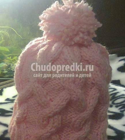 Вязание шапочек для девочек спицами: пошаговые мастер-классы спицами