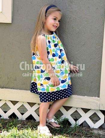 Сарафан девочке 5 лет своими руками фото 364