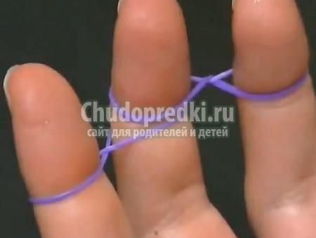 Как плести двойные браслеты из
