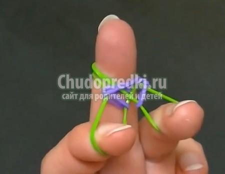 Как плести двойные браслеты из резинок? Лучшие варианты с фото
