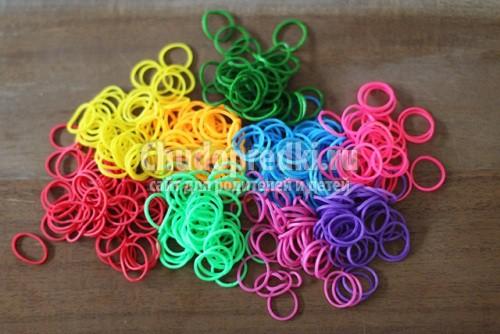 Плетение браслетов при помощи станка
