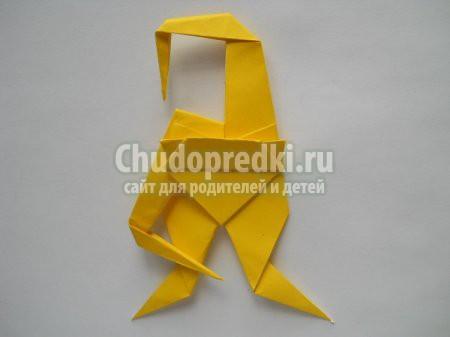 Обезьяна из бумаги