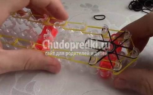 Плетение из резиночек на станке уроки