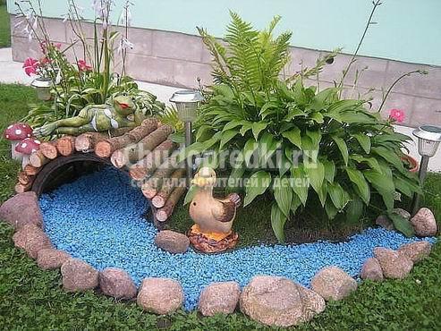 Украшения для сада. Оригинальные задумки и варианты декора