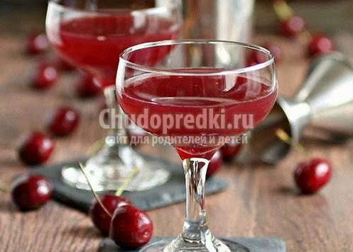 Рецепт настоек на спирту из вишни