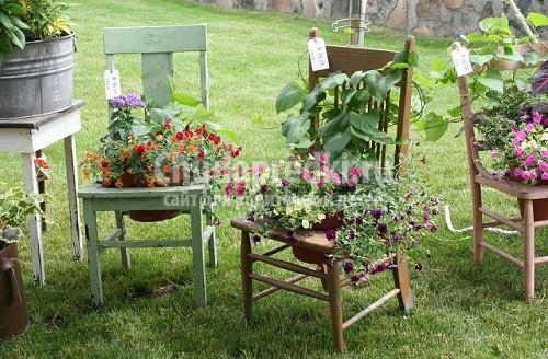 Как красиво украсить свой сад своими руками