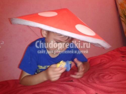 Как сделать шапку грибочка