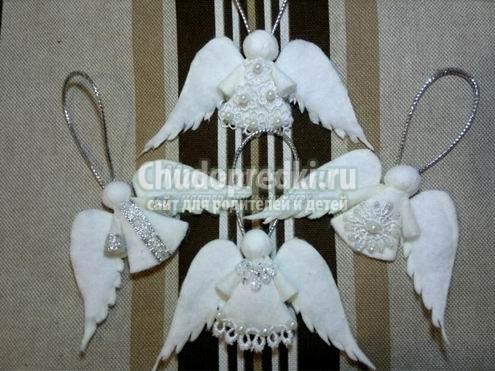 Ангелок рождественский своими руками