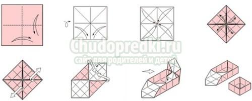Как из бумаги сделать коробочку с крышкой без клея пва