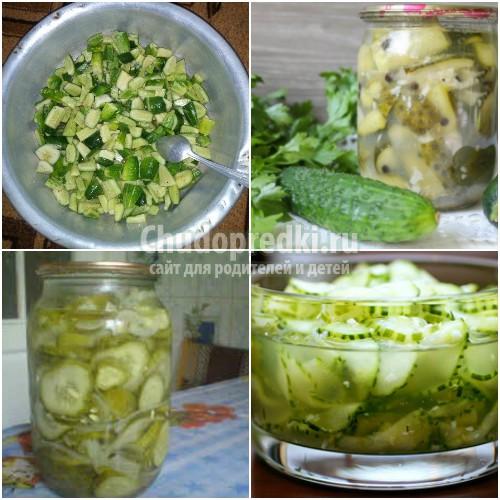 огурцы рецепт салата видео