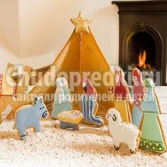 Рождественский вертеп. Мастерим своими руками