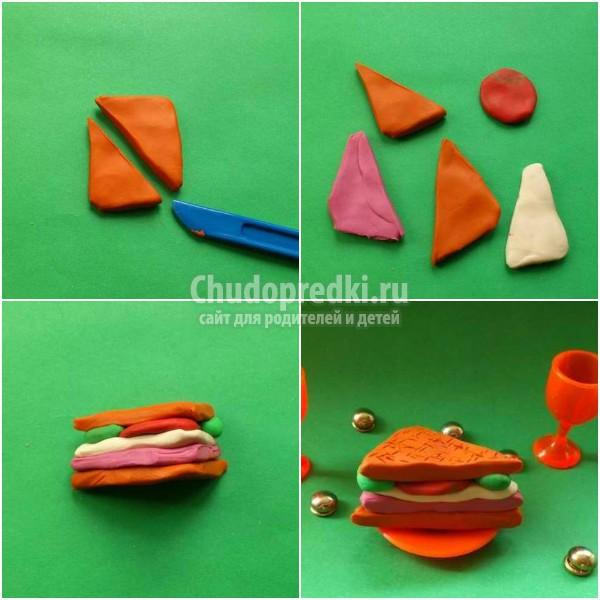 Как сделать еду для кукол без пластилина