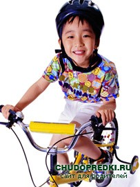 дети и велосипед