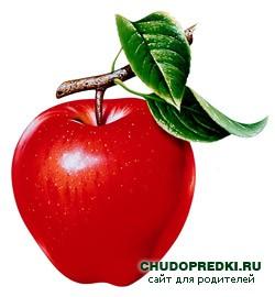 яблоко картинки для детей
