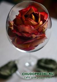 Как правильно засушить розы?