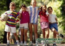 Детские эстафеты