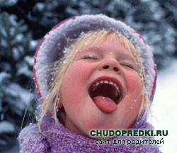 Игры для ребенка в 2 года зимой