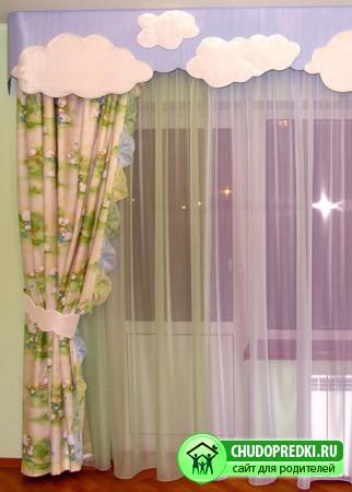 детской шторы