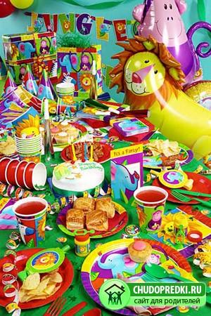праздничный стол для детей от 5 до 7 лет Chudopredkiru ребенок