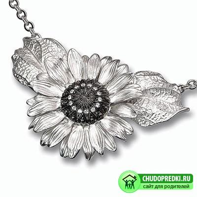 красивое серебро для женщин