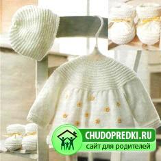 Вышивка на детских платьях